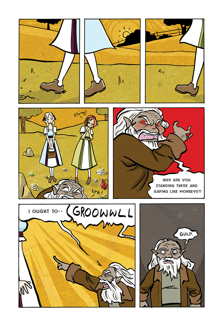 Snow White and Rose Red pg31