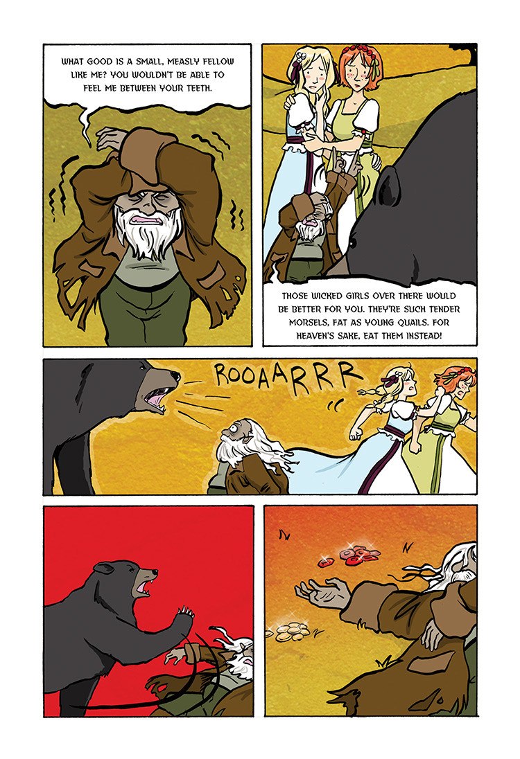 Snow White and Rose Red pg33