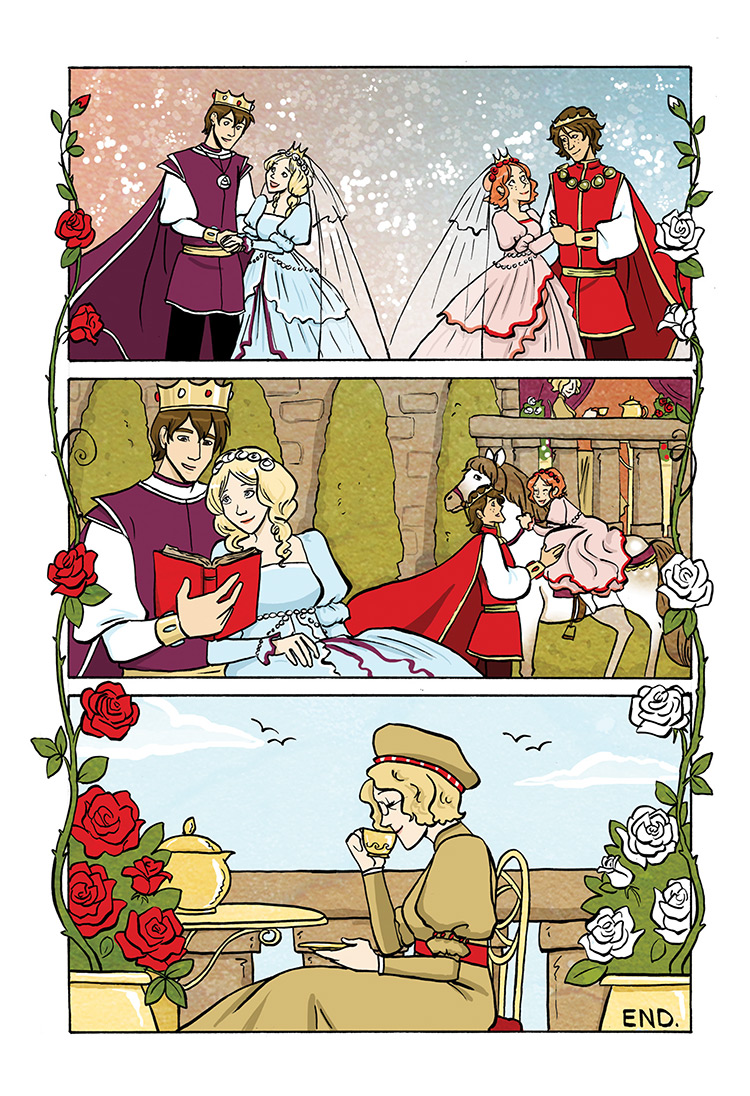 Snow White and Rose Red pg36