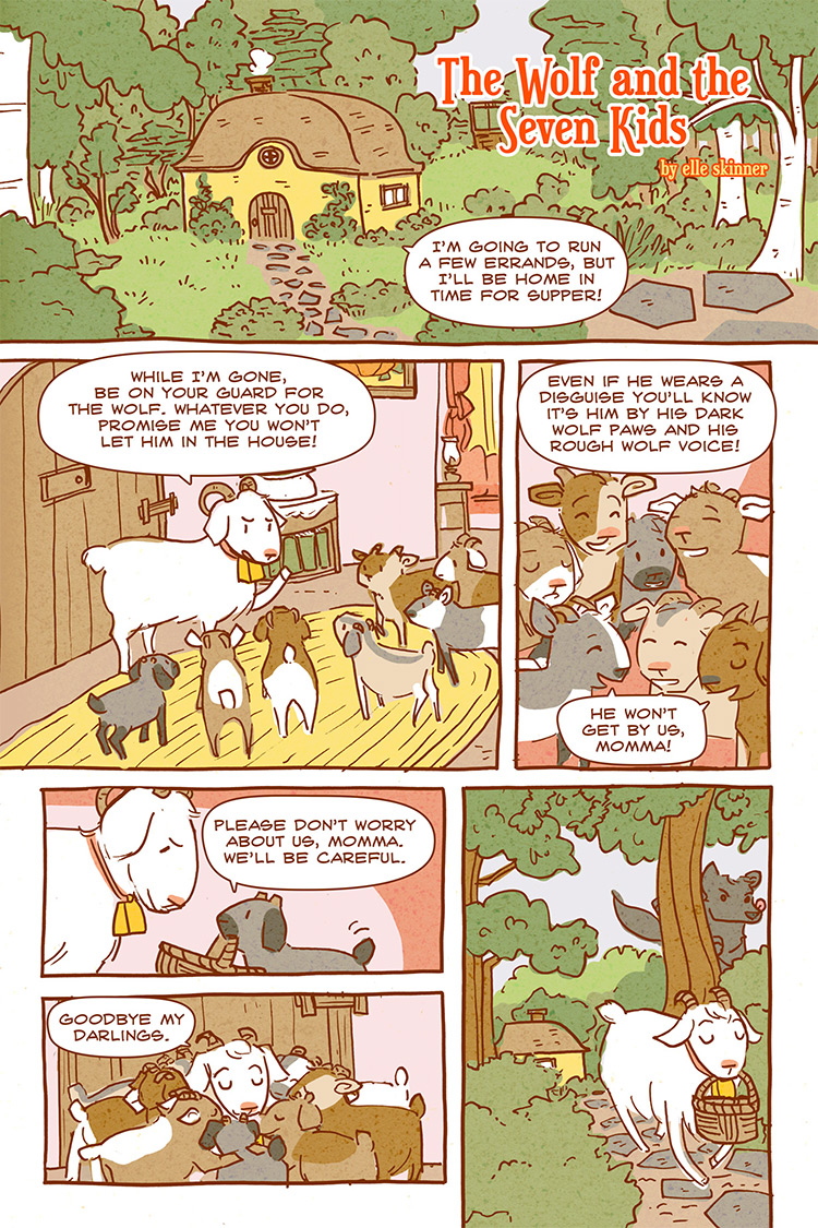 The Wolf and the Seven Kids pg01