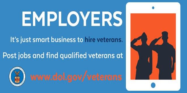 It's smart business. Hire a veteran.