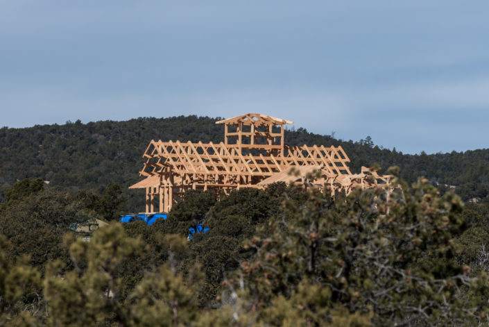Timberframe Construction New Mexico New Construction