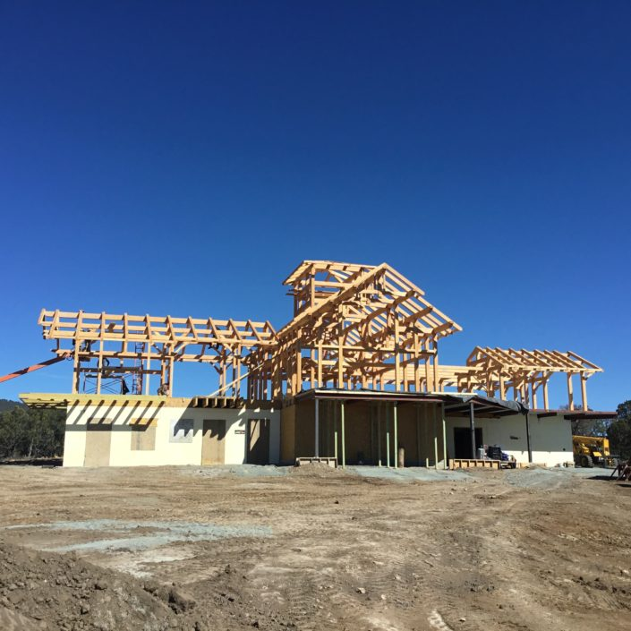 Timberframe Construction New Mexico New Home Construction