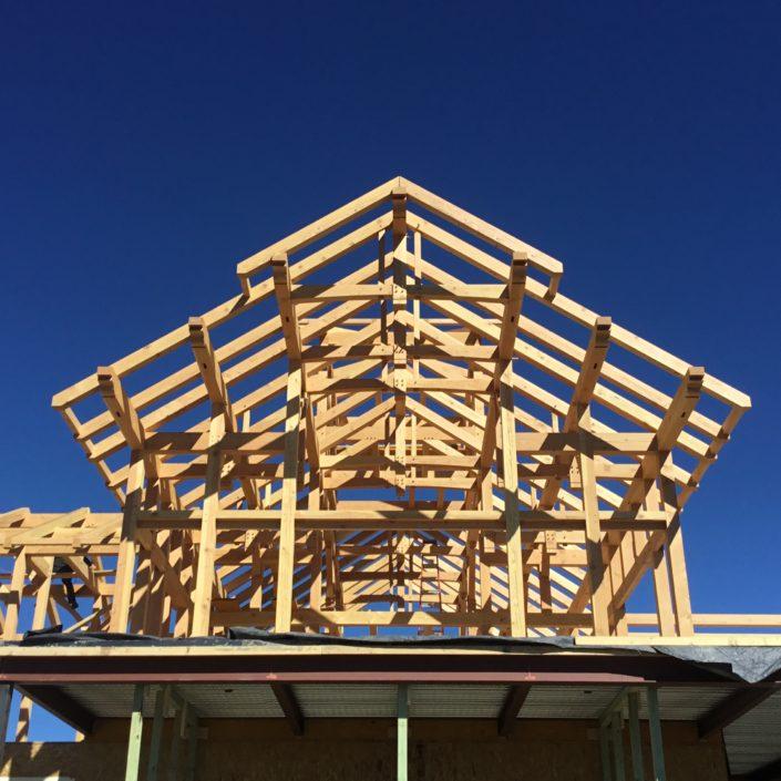 Timberframe Construction New Mexico Custom Home