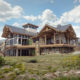 Timberframe Rendering New Mexico Custom Home