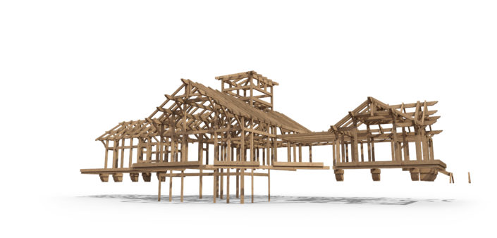 Timberframe Structure New Mexico