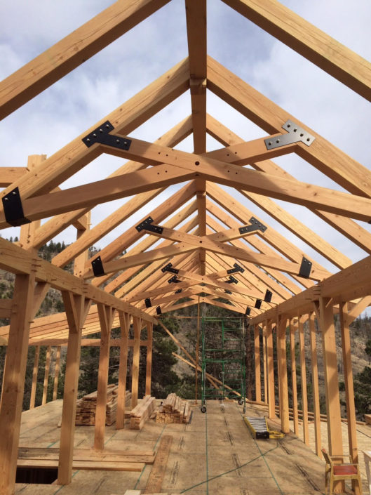 Timberframe Construction Great Room