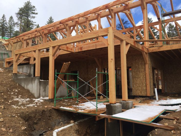 Outdoor Construction Timberframe