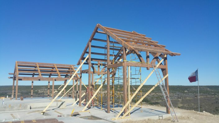 Timberframe Construction Tabberson Architects Texas