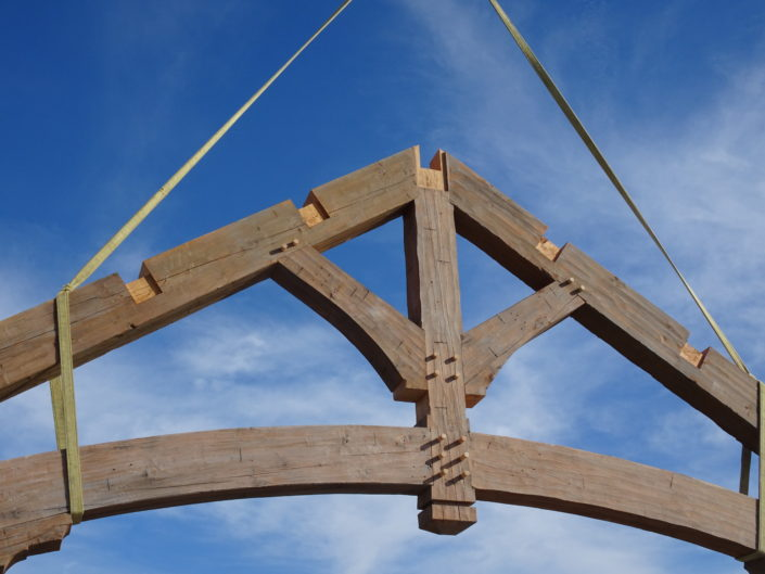 Timberframe Construction Junction Texas