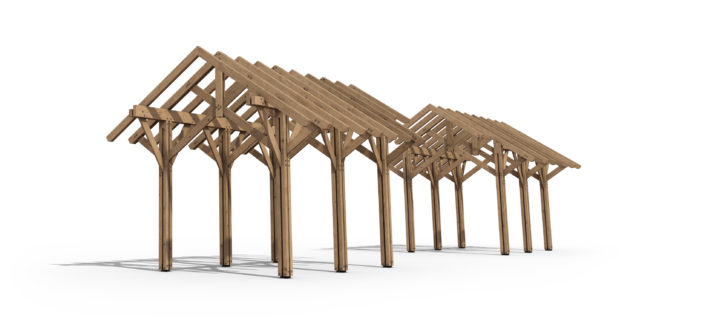 Brown County Indiana Architecture Timberframe