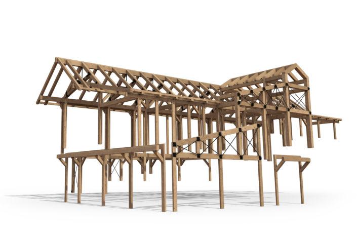 Timberframe Structure Colorado