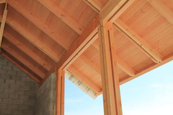 Greenhouse Timberframe Construction