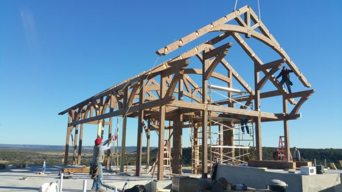 Timberframe Construction Texas Custom Ranches