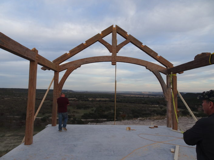 Timberframe Construction Texas Tabberson Architects