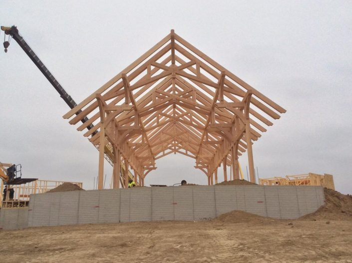Timberframe South Dakota Construction