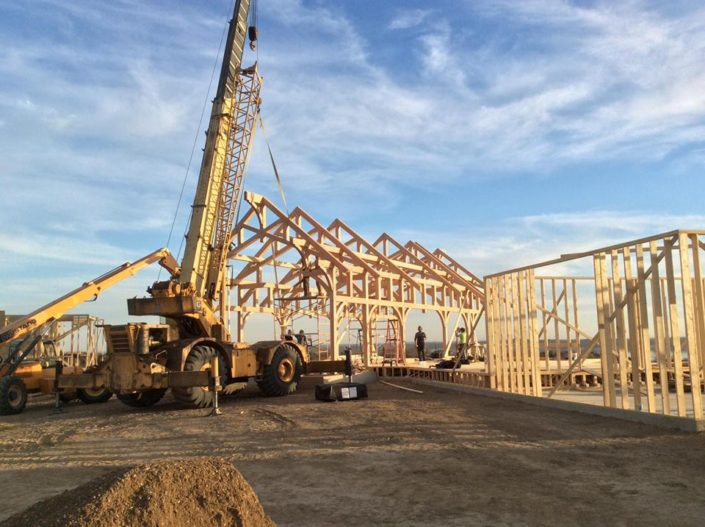 South Dakota Timberframe Construction