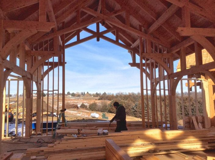 Timberframe Home Construction United States