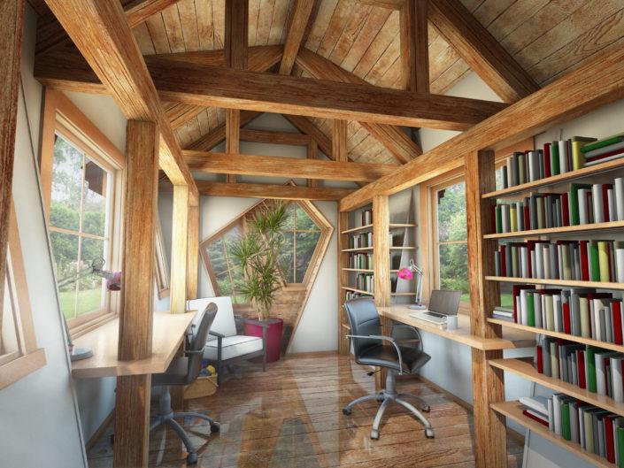 architecture interior rendering