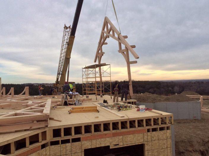 Timberframe Construction South Dakota