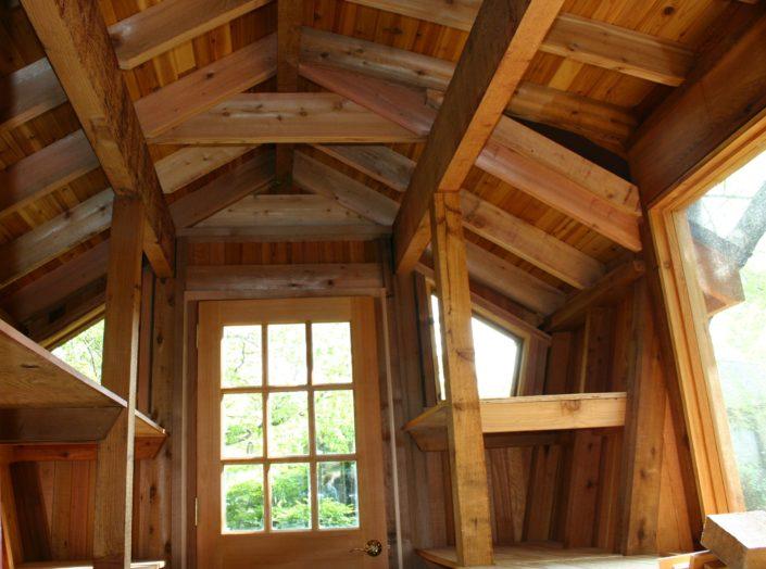 Potting shed interior
