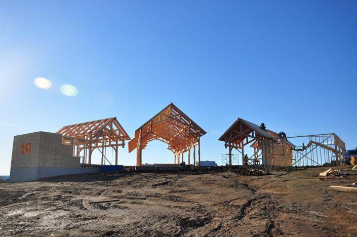 Timberframe Construction South Dakota Tabberson Architects