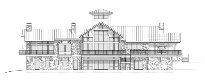 Architecture Drawing New Mexico