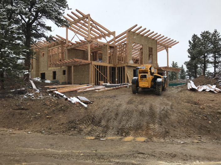 Timberframe Construction Colorado