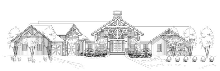 Architecture Drawing Texas