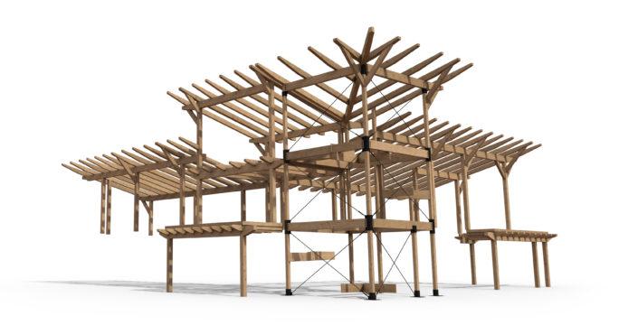 Timberframe Rendering Colorado