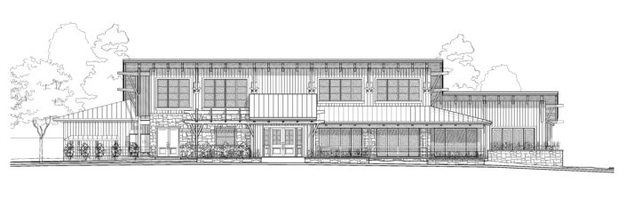Architecture Drawing Indiana Restaurant