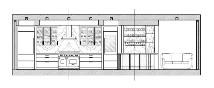 Architecture Drawing Tabberson Architects Indiana Remodel