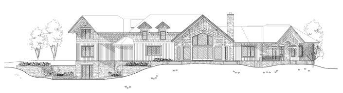 Architecture Drawing Tabberson Architects South Dakota