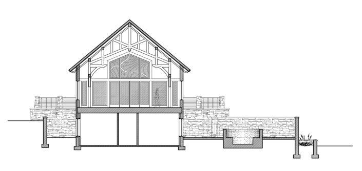 Architecture Drawing South Dakota