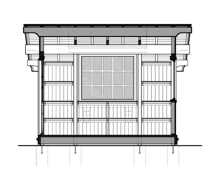 Architecture Drawing Shed Indiana
