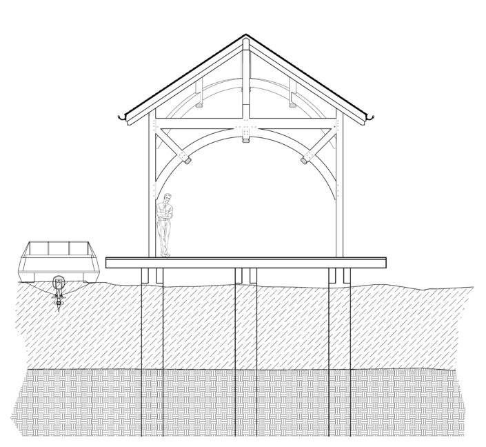 Architecture Drawing Tabberson Architects Indiana