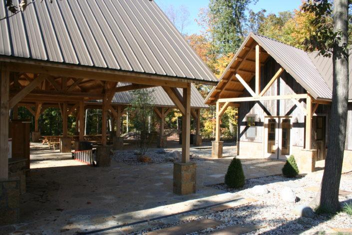 Timberframe Ohio Pavilions
