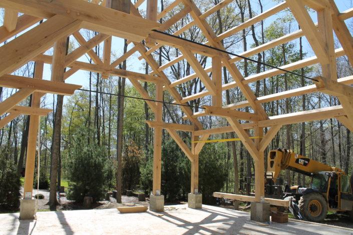 Timberframe Construction Ohio
