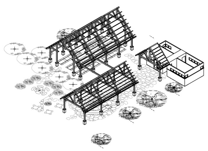 Architecture Drawing Tabberson Architects Ohio