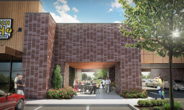 Rendering Tabberson Architects