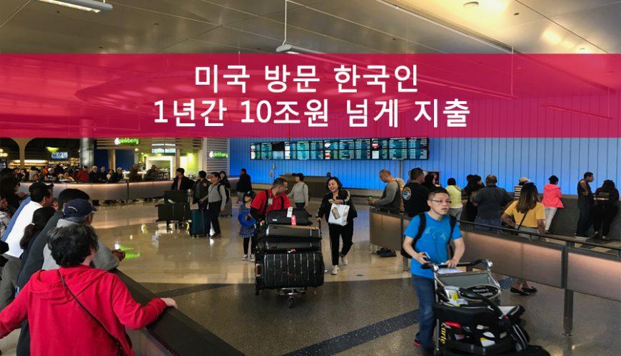 미국 방문 한국인