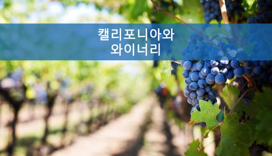 캘리포니아와 와인