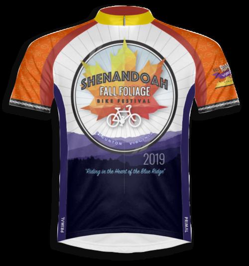 Fall Foliage Bike Festival 2019 Jersey