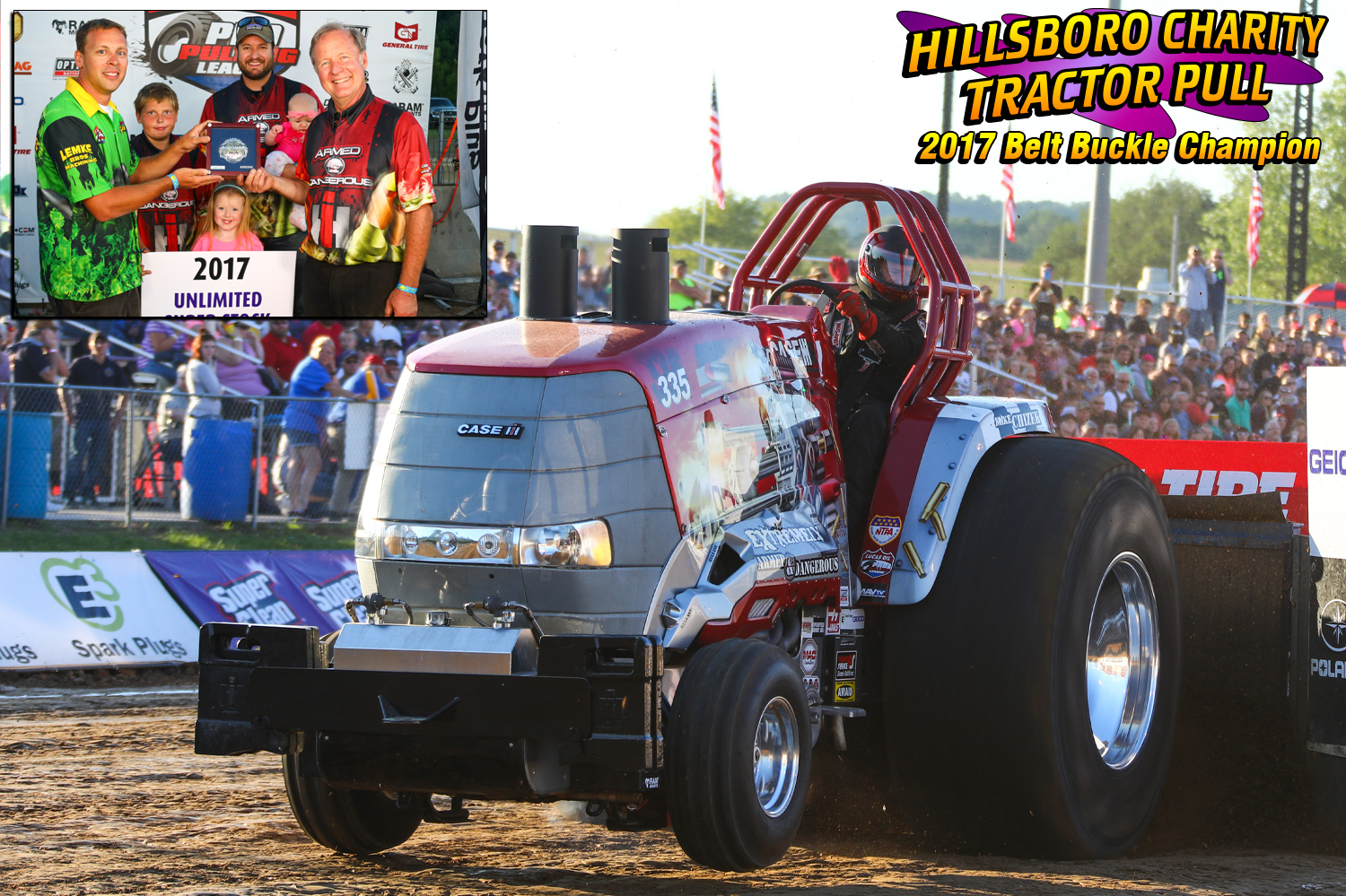 "Unlimited Super Stock Tractors- Terry Blackbourn ""Extremley Armed and Dangerous"" """