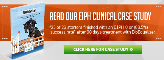 EIPH Clinical Case Study - 23/26 starters finished with an EIPH 0 or 88.5% success rate