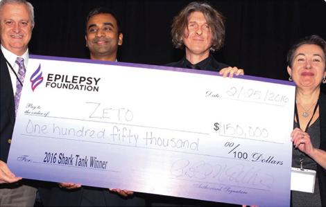 Epilepsy Foundation Award   Zeto Wearable EEG Device