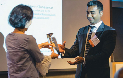 Rosenman Innovator of the Year Award   Zeto Wearable EEG Device