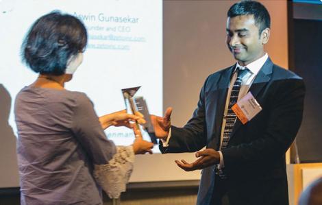 Rosenman Innovator of the Year Award | Zeto Wearable EEG Device