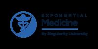 Zeto EEG Headset  Exponential Medicine Logo
