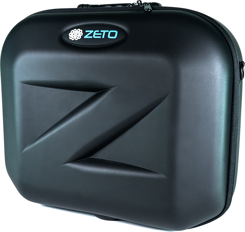 Zeto EEG Monitoring Device Suitcase Close